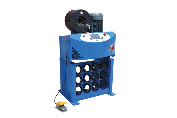 中小企業の昇進のための高圧油圧ホースのひだが付く機械